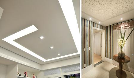 Drywall é ótima opção para renovação de ambientes