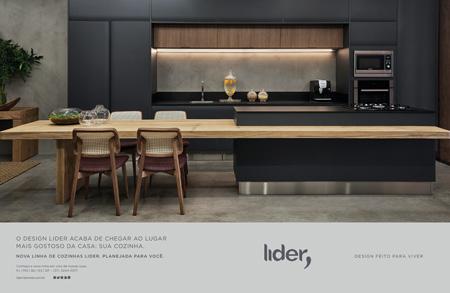 Lider Interiores lança linha de cozinha