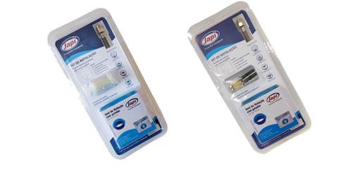kits Japi para instalação de bacias com caixa acoplada