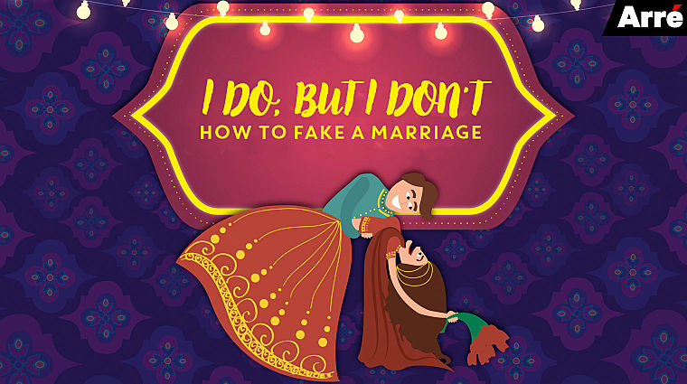 how to fake a marriage