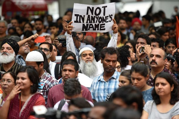 NotInMyName Protest Across India Against Mob Violence