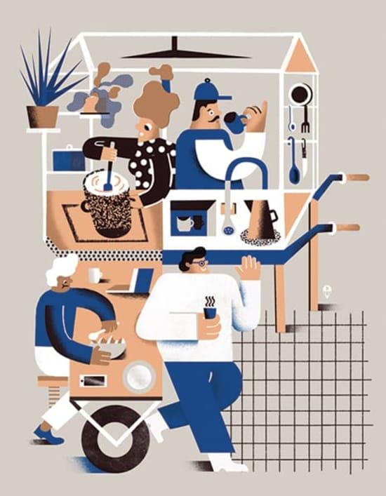Illustration by Karol Banach