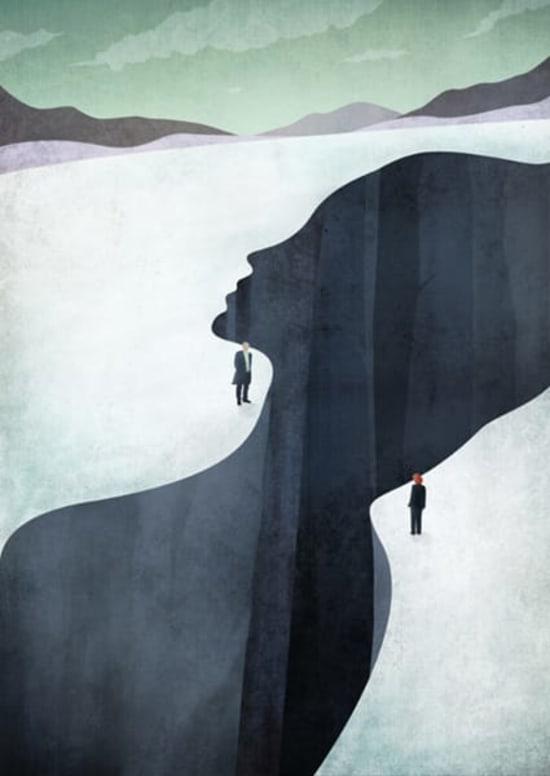 Illustration by Benedetto Cristofani