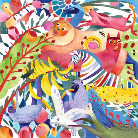 Illustration by Slavka Kolesar