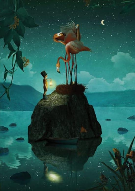 Illustration by Christel Wolf
