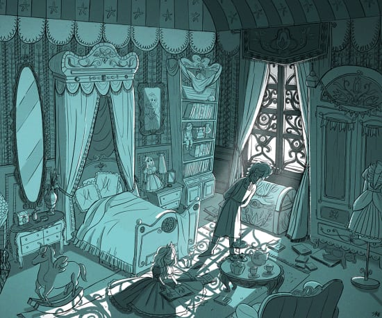 Illustration by Sunny B. Yazdani