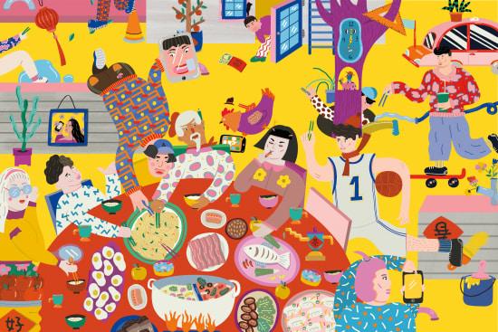 Illustration by Eszter Chen