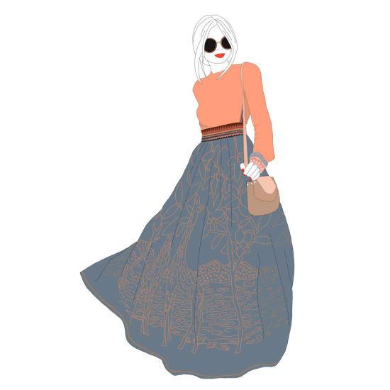 Illustration by Pia Sabel