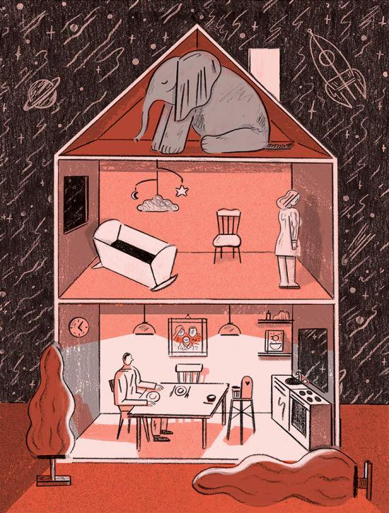 Illustration by Kati Szilagyi
