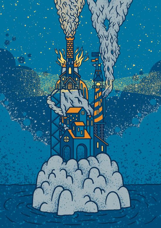 Illustration by Arthur Plateau