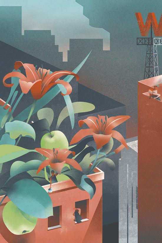 Illustration by Pamella Pinard