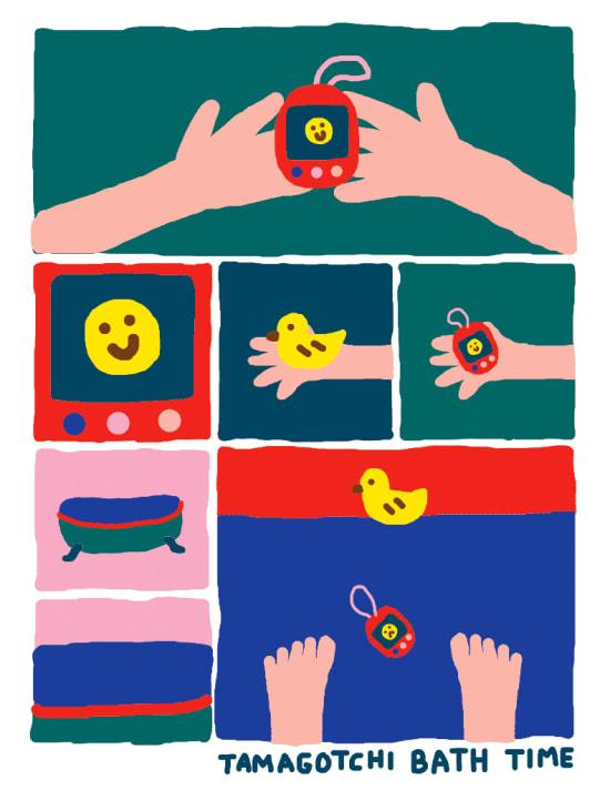 Illustration by Keiko Nabila Yamazaki