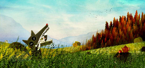 Illustration by Jadwiga Kowalska