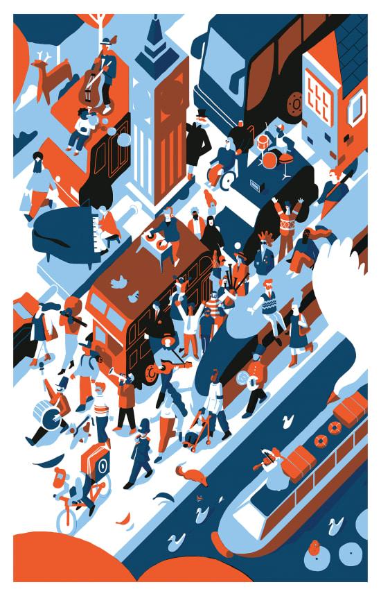 Illustration by Fausto Montanari