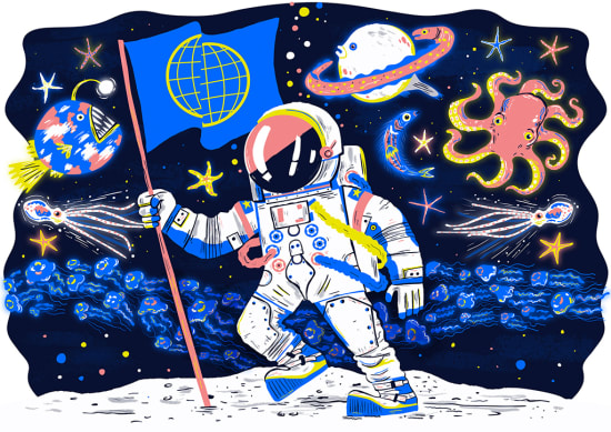 Illustration by Chris Dickason