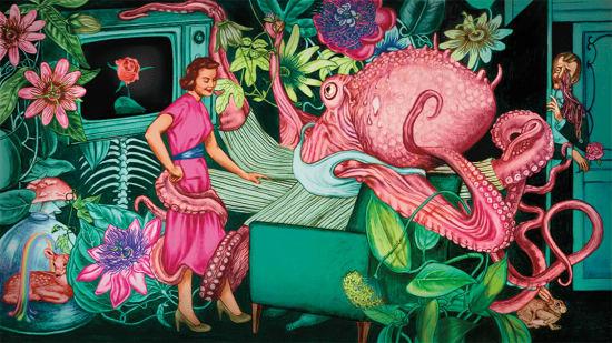 Illustration by Pauliina Mäkelä