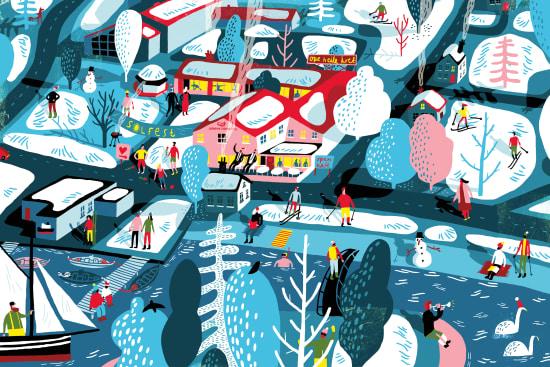 Illustration by Oivind Hovland