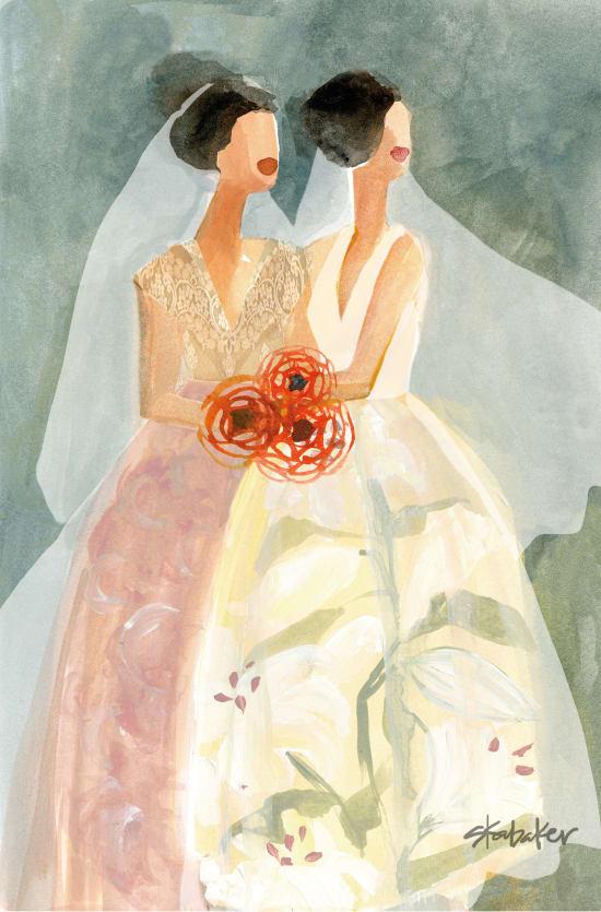 Illustration by Gayle Kabaker
