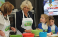 Duchess of Cornwall visits library for National Bookstart Week