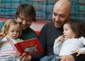 Book Trust research: Dads aren't reading enough to their children