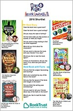 Blue Peter Book Awards 2016 - Questions to ask when reading the shortlist