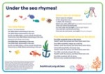 National Bookstart Week 2016: rhyme sheets