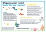 National Bookstart Week 2016: additional bilingual rhyme sheets in Welsh and English