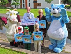 Tales from work experience during National Bookstart Week