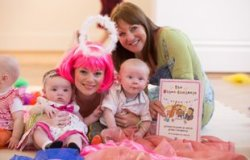 Families celebrate nursery rhymes at the Ulster Museum