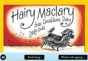 Hairy Maclary online story book