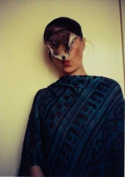 Birgit Jürgenssen, Untitled (Self with Little Fur), 1974/2011