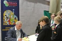 11 towns, 48 schools, 1,500 children - The Children's Laureate Northern Tour