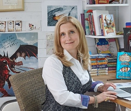 Cressida Cowell says goodbye with an exciting competition