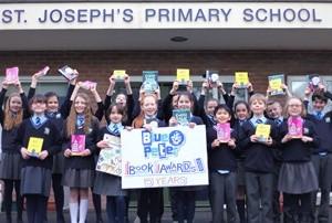 Northern Irish pupils judge the Blue Peter Book Award