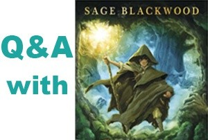 Twitter Q&A with Sage Blackwood