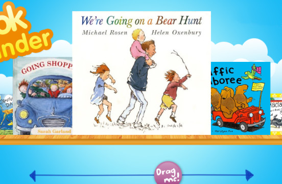 Bookstart book finder