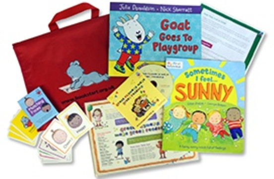 Bookstart 2-year-old pack