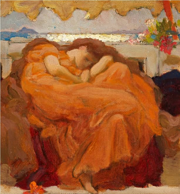 Study for Flaming June