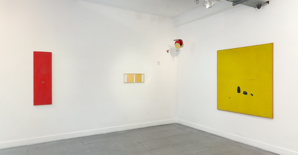 Li Yuan-chia, installation view. Courtesy Richard Saltoun Gallery.