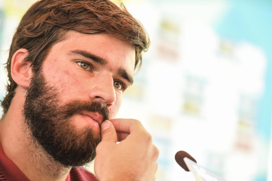 Video: il Facebook Live di Alisson