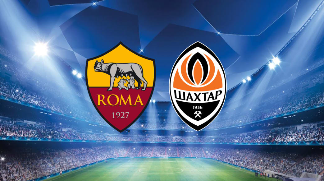 Roma Will Face Ukrainian Champions Shakhtar Donetsk In The Last  Of The Champions League After The Draw Was Made On Monday