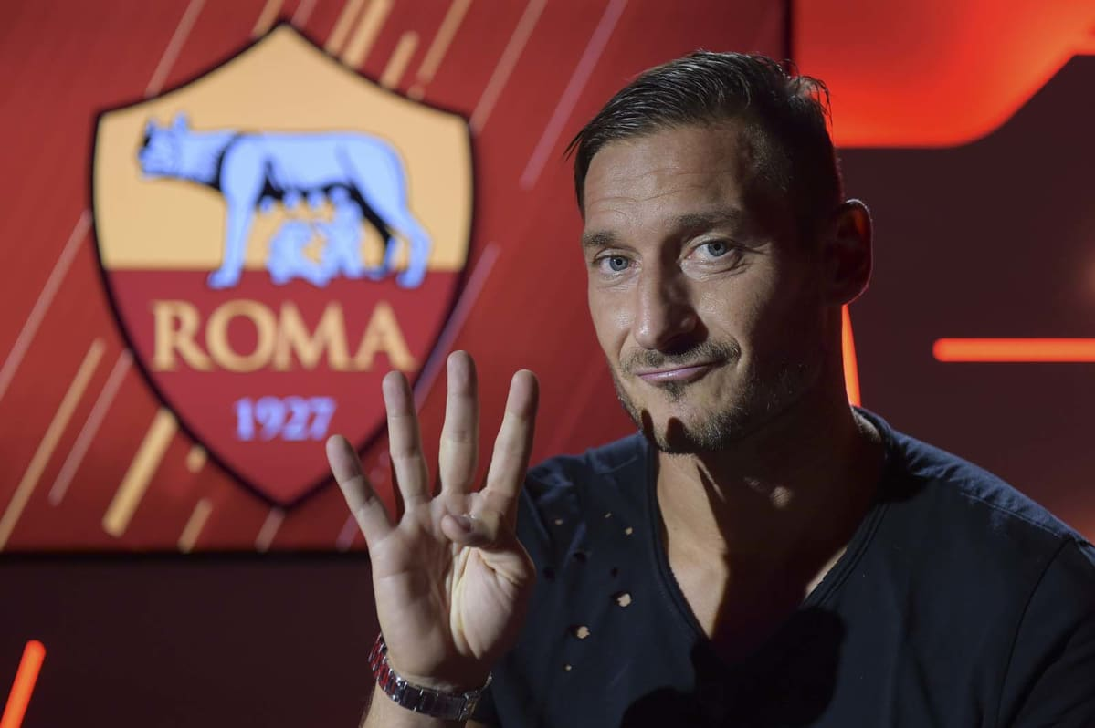 Francesco Totti at 40 The captain s interview