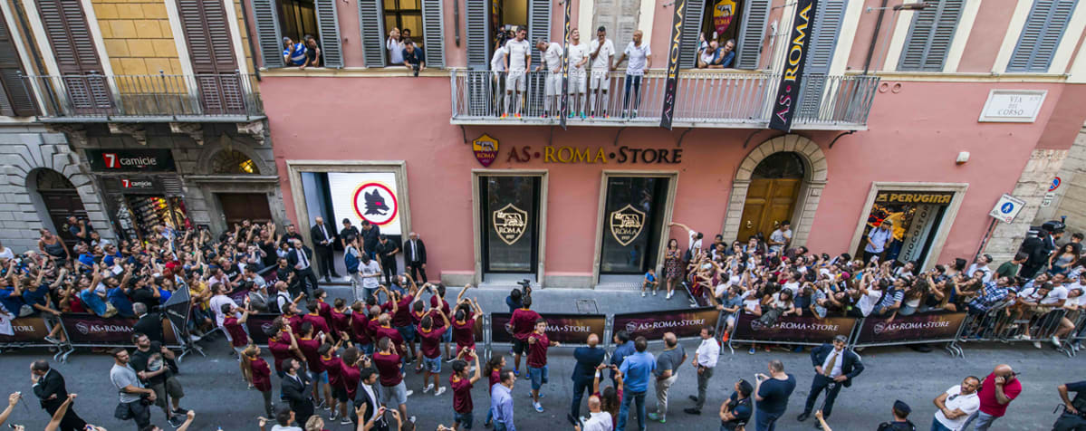 The official AS Roma Stores are the only place where you can find the  entire range of official AS Roma merchandise. The stores carry more than  1,000 ...