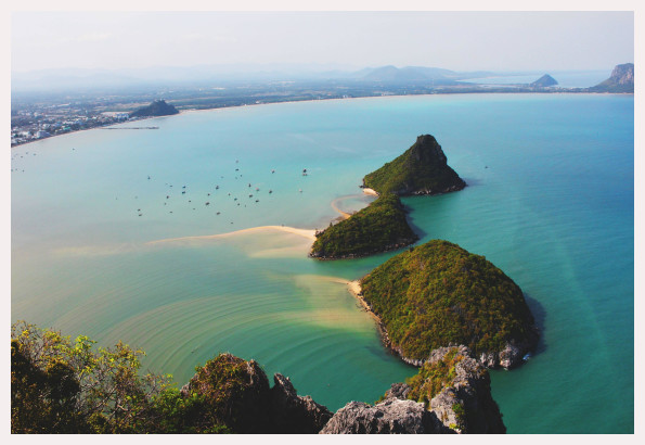 Prachuap Khiri Khan Thailand  city photo : Prachuap Khiri Khan beach resort, Thailand