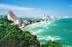 Hua Hin Beach, Bangkok, Thailand