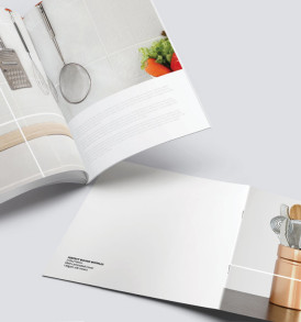 booklet brochure printing saddle stitch