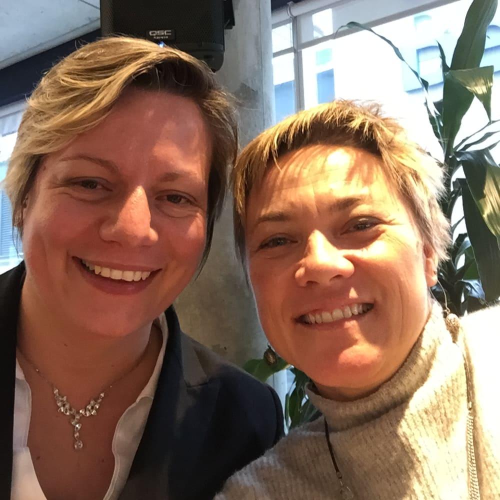 Anne-Solène Rioult & Claire Giroudeau