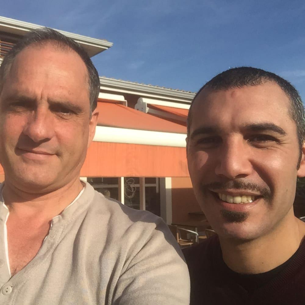 Mehdi OUDGHIRI & Xavier Blandin