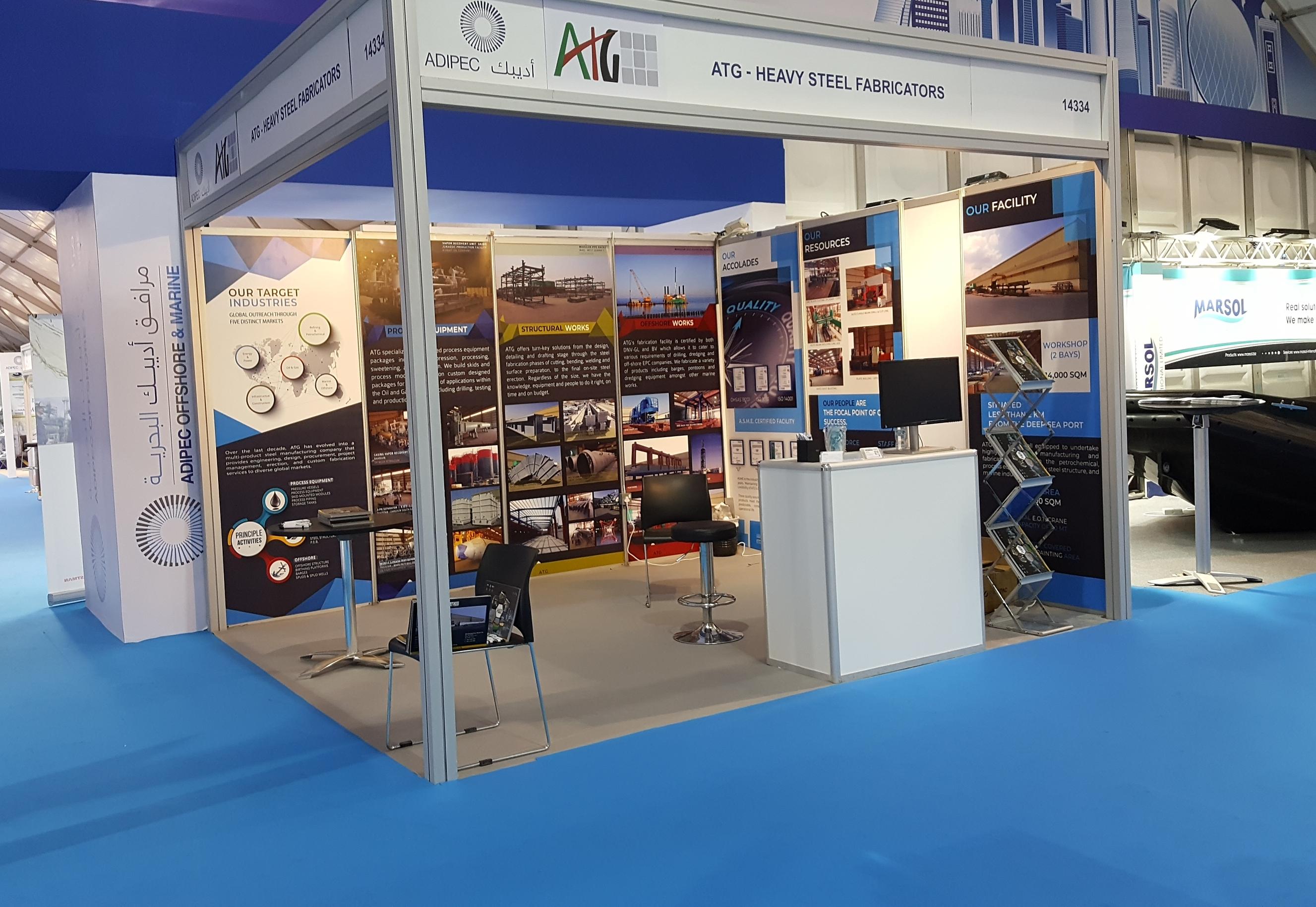 ATG Stand at ADIPEC 2017