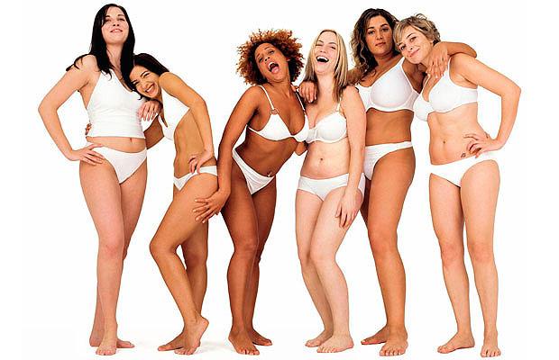 Biotipo feminino e padrão de beleza.